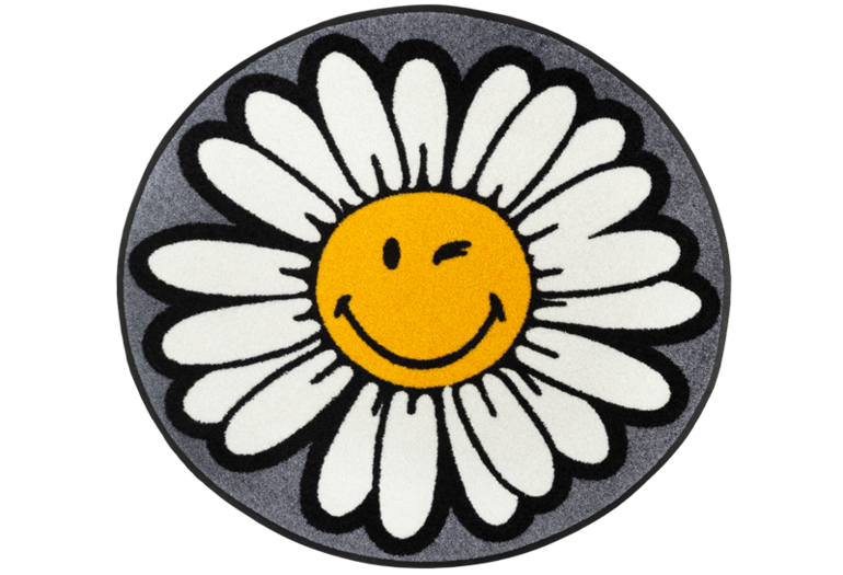 Smiley Daisy Flower