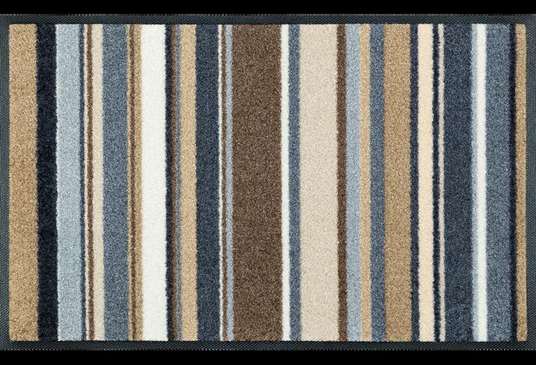 Nature wash dry Tapis Mikado Stripes Nature 75x190
